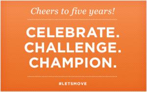 5thAnniversary-Lets-Move-Michelle-Obama